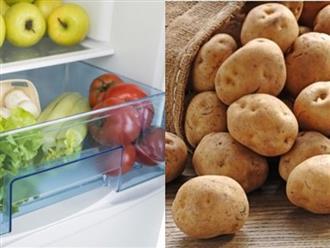 5 loại thực phẩm không nên bảo quản trong tủ lạnh vì sẽ mất chất, không tốt cho sức khỏe