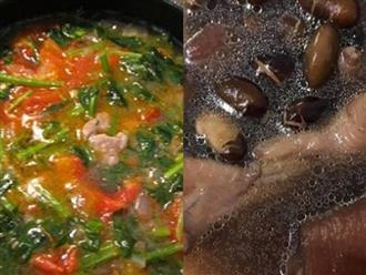 5 món canh tự nấu cực tốt giúp giải độc, loại bỏ hết cặn bã trong máu nên ăn thường xuyên