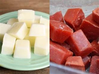 5 thực phẩm chỉ cần đông đá giúp da cải lão hoàn đồng, vừa trắng mịn lại đánh bay mụn xấu