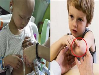 7 dấu hiệu ung thư ở trẻ em, một số triệu chứng dễ nhầm với bệnh vặt cha mẹ thường bỏ qua