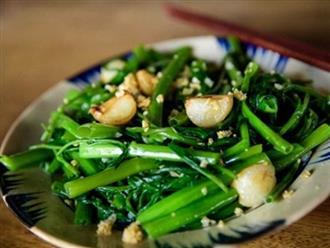 7 sai lầm khi xào nấu rau xanh khiến mất chất dinh dưỡng, gây bệnh ung thư