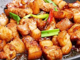 Cách làm món thịt ba chỉ kho tiêu đậm đà đưa cơm