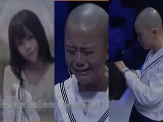 Cô gái tự tay cắt phăng mái tóc dài, cạo trọc đầu để chứng minh tình yêu và cái kết đẫm nước mắt