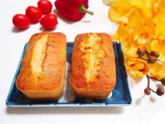 Vụng mấy cũng làm được bánh bông lan nho ngon mềm ăn mãi không chán