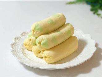 Nếu bạn đã mê bánh chuối Thái thì có công thức bánh chuối Tokyo vạn lần ngon hơn!