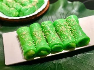 Dùng chảo chống dính làm bánh cuốn ngọt thật dễ dàng với công thức đảm bảo 100% thành công