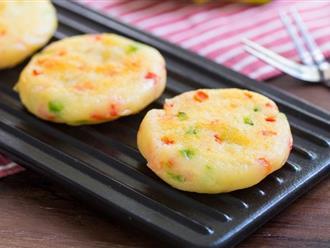 Bé nhẹ cân - mẹ làm ngay bánh khoai tây kiểu này cho con ăn bữa xế nhé!