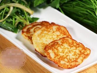 Khoai tây mùa này vừa rẻ vừa ngon, chỉ mất 10k có ngay món bánh khoai tây chuẩn vị Hàn