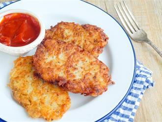 Muốn bé tăng cân, ăn ngon làm ngay bánh khoai tây phô mai cực hấp dẫn