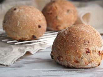 Cuối tuần tôi làm một mẻ bánh mì dừa thơm nức, cả tuần sau gia đình có đồ ăn sáng sạch - ngon