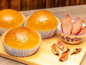 Làm sẵn một mẻ bánh mì nhân mặn thì cả tuần có đồ ăn sáng ngon - sạch