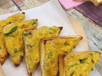 Bữa sáng có bánh mì quết chả cá thơm giòn ai cũng mê