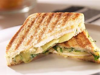 Dù không có máy bạn vẫn có thể làm được bánh mì sandwich nướng giòn rụm, thơm lừng