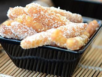 Trời lạnh nhất định phải thử ngay món bánh nếp trong dẻo ngoài giòn siêu ngon này