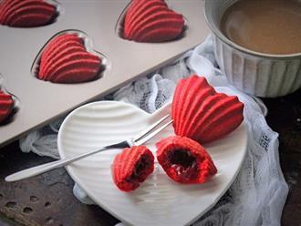 """Mách bạn cách """"cưa đổ crush"""" chỉ bằng món bánh trái tim làm siêu đơn giản"""