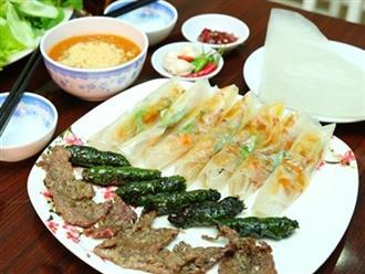 Bánh tráng mắm ruốc giòn rụm, ram thịt nướng nức tiếng ở Quảng Ngãi