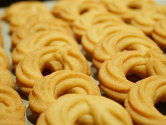 Cách làm bánh quy bơ hấp dẫn nhất ngày 20/10