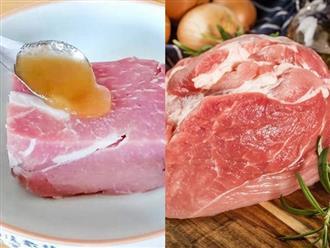 Mẹo bảo quản thịt lợn tươi ngon không cần tủ lạnh, để cả tuần vẫn không sợ hỏng