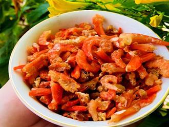 Bí quyết chọn tôm khô ngon chế biến món ăn ngày Tết