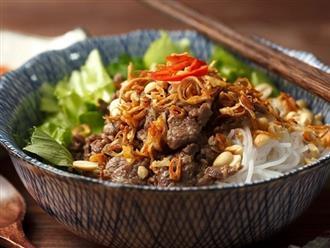 Bí quyết nấu bún bò Nam Bộ làm xiêu lòng người ăn
