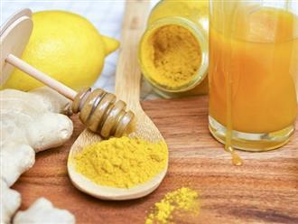 Bí quyết pha tinh bột nghệ mật ong phòng bệnh, làm đẹp hiệu quả