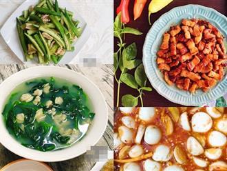 Bữa cơm giản dị với 90.000 đồng khiến cả nhà ai ăn 3-4 bát cơm vẫn thấy thèm
