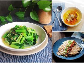 Thực đơn 3 món đơn giản, chế biến nhanh mà rẻ cho bữa cơm tối ngon lành