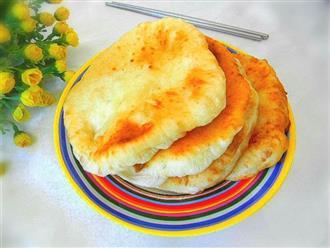 Bữa sáng có bánh rán xốp mềm ngon đến thế này thì cần gì phải ra ngoài mua đồ ăn!