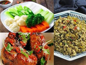 Gợi ý thực đơn bữa tối nhanh gọn, đủ dinh dưỡng, không lo chướng bụng cho gia đình