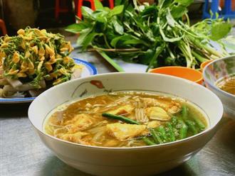 Bún cá Num-bo-chóc mê hoặc thực khách sành ăn ở Sài Gòn