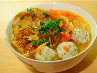 Dễ dàng thực hiện ngay món bún chả cá Hà Nội đầy hấp dẫn ngay tại bếp