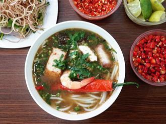Quán bún mắm, bún thịt nướng có thâm niên trên 20 năm ở Sài Gòn