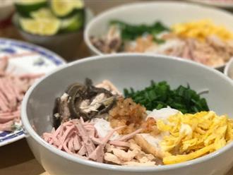 Bún thang - món ăn có nguồn gốc từ cỗ thừa ngày Tết chứa đựng sự tinh tế, cầu kỳ của người Hà Nội