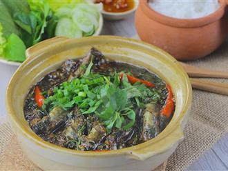 Cách làm món cá kèo kho rau răm tuyệt ngon cho bữa trưa đầu tuần