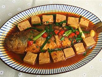 Cá kho đậu đậm đà cho bữa tối ngon cơm