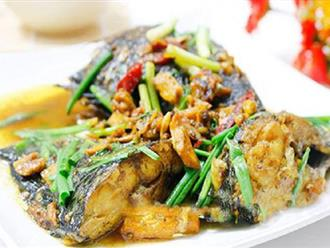 Cá kho nghệ miền Trung thơm ngon béo ngậy với cách làm đơn giản