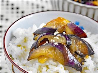 Cà tím ăn cả vỏ vừa ngon vừa bổ, nhưng có 3 nhóm người lại nên ăn càng ít vỏ cà tím càng tốt