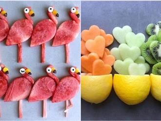 Những cách cắt xếp trái cây siêu cute mẹ nào cũng có thể làm được ngay vì cực dễ