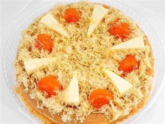 Cách làm bánh bông lan trứng muối thơm ngậy bằng lò nướng