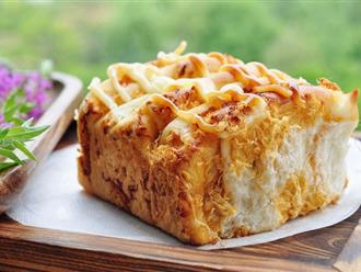 Mách bạn cách làm bánh mì chà bông theo cách đơn giản nhất