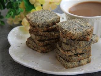 Có một loại bánh chỉ với 4 bước làm đơn giản mà giòn tan thơm bùi nhâm nhi cùng trà nóng thì tuyệt!