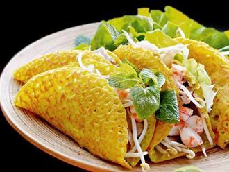 Cách làm bánh xèo giòn, thơm ngon chuẩn vị đặc sản miền Trung