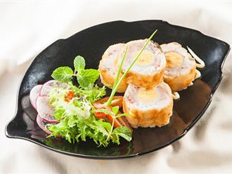 Cách làm cá cuộn tôm trứng cút thơm ngon, bổ dưỡng