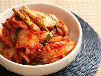 Cách làm kim chi Hàn Quốc đơn giản tại nhà