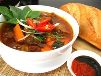 Cách làm món bò kho cà rốt đậm đà hương vị truyền thống