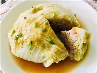 Cách làm món cải thảo bọc thịt hấp ngon ngọt thanh đạm ngày nắng