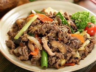 Cách làm món thịt bò xào nấm giàu chất dinh dưỡng