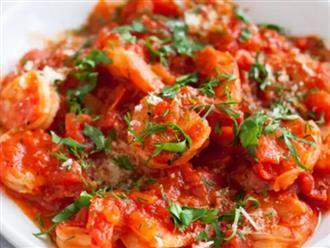 Cách làm món tôm chiên sốt cà chua đậm đà hương vị quê hương