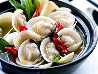 Cách làm ngao hấp Thái chua cay đơn giản thơm ngon khó cưỡng