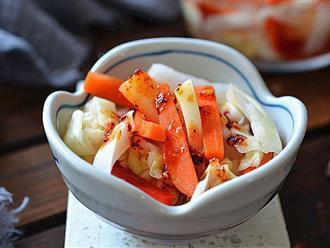 Cách làm rau củ trộn chua ngọt để cả tuần trong tủ lạnh ăn vẫn cực giòn ngon
